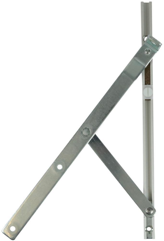 Topstyret beslag med friktion - længde 250 mm