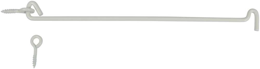 Raslefri stormkrog 310 mm med øsken hvid