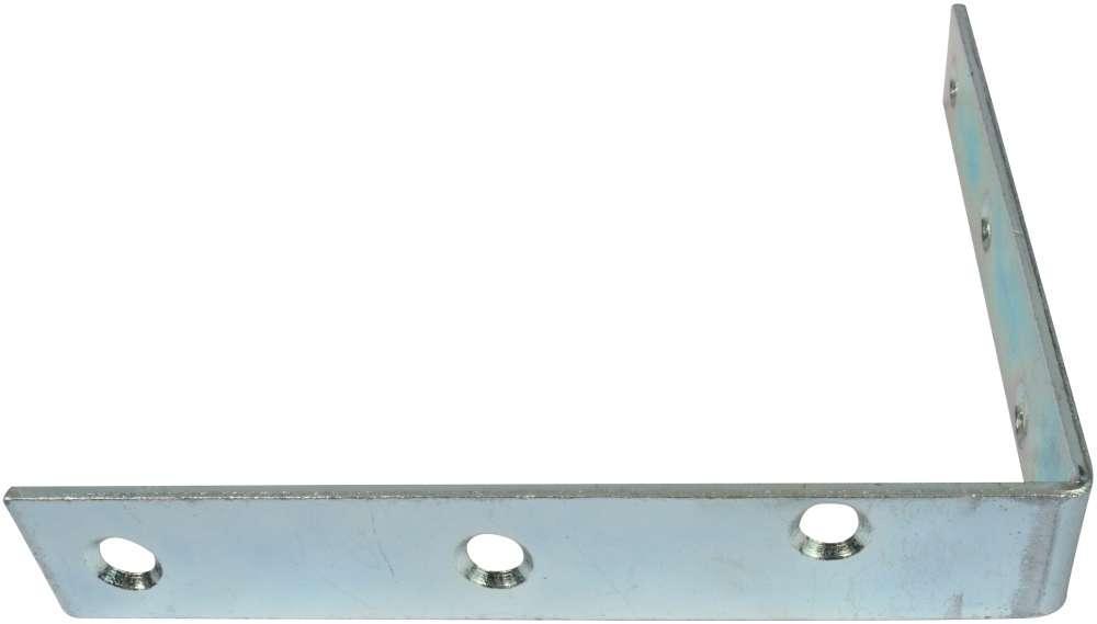 Vinkeljern 130 mm og elforzinket blå