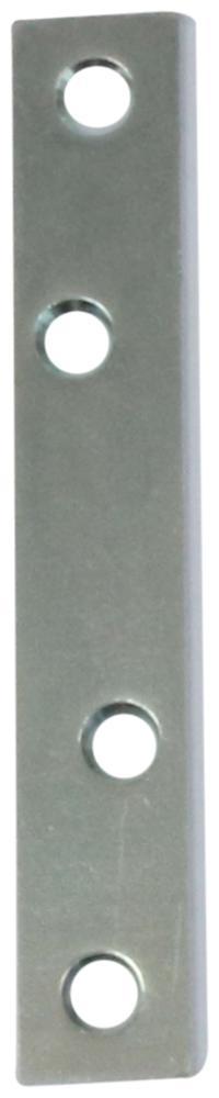 Ligejern 100 mm og elforzinket blå