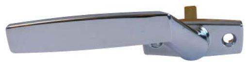 Greb mat 7 mm tap - venstre og mat forcromet