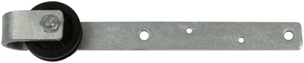Plast skydedørsrulle 60 mm og varmforzinket