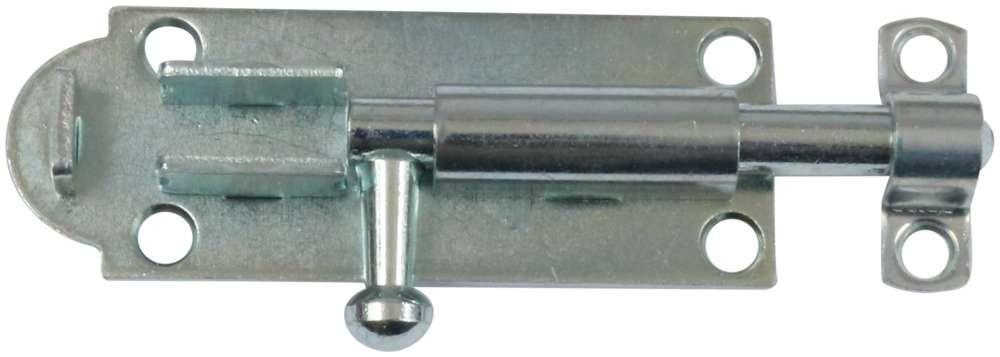 Skudrigle 85 mm med skruer og elforzinket blå