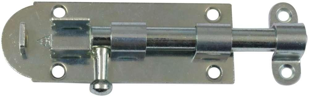 Skudrigle 105 mm med skruer og elforzinket blå