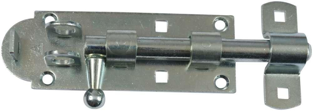 Skudrigle 130 mm til hængelås og elforzinket blå