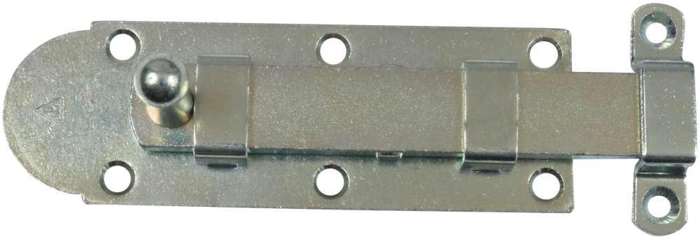 Skudrigle 135 mm med skruer og elforzinket blå