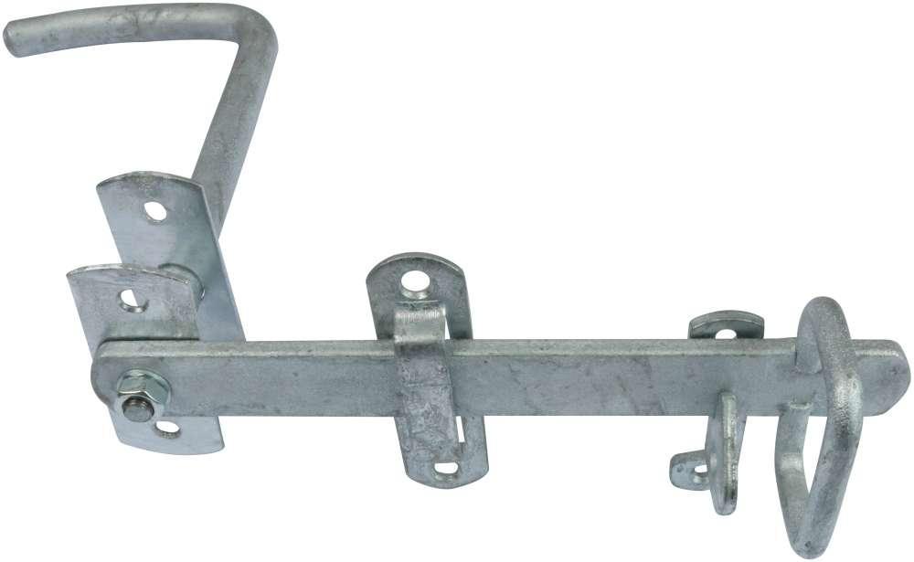 Stalddørgreb 45-80 mm dør og varmforzinket