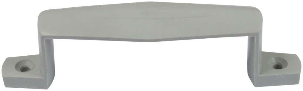 Håndtag 155 mm i plast grå