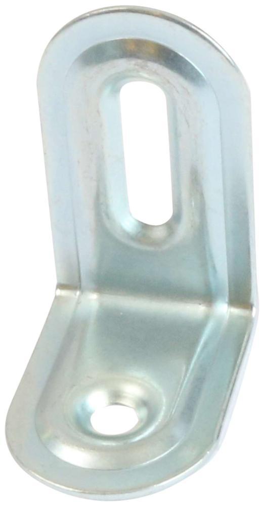 Riglejern 4 stk. med skruer og elforzinket blå
