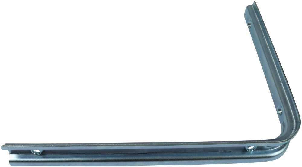 Let hyldeknægt 200x250 mm og elforzinket blå
