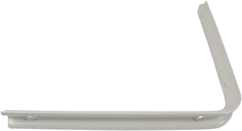 Let hyldeknægt 200x250 mm og lakeret hvid