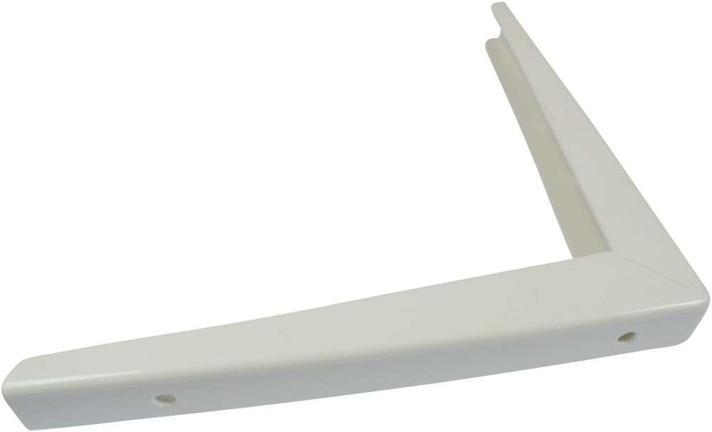 Bordbæring 300x550 mm og lakeret hvid