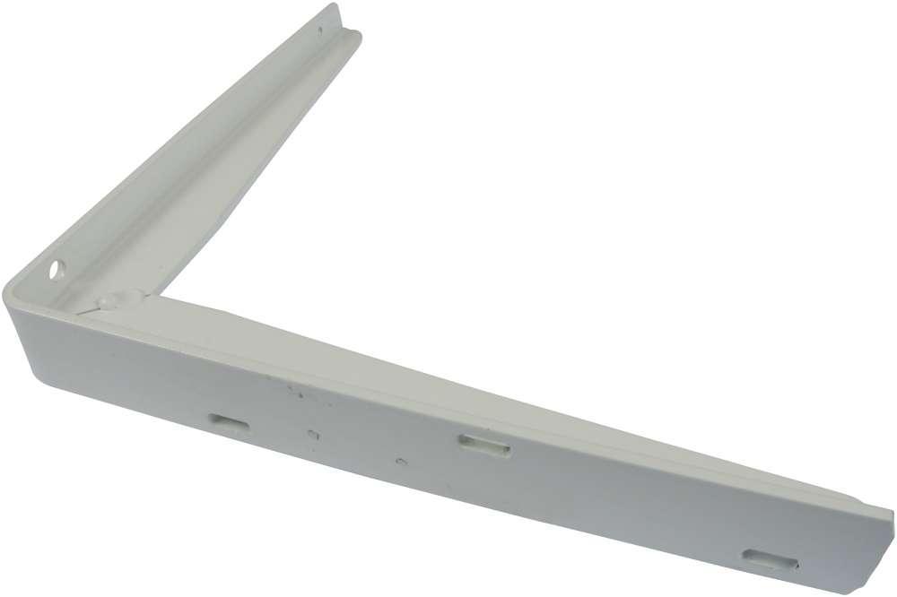 Bordbæring 300x400 mm og lakeret hvid