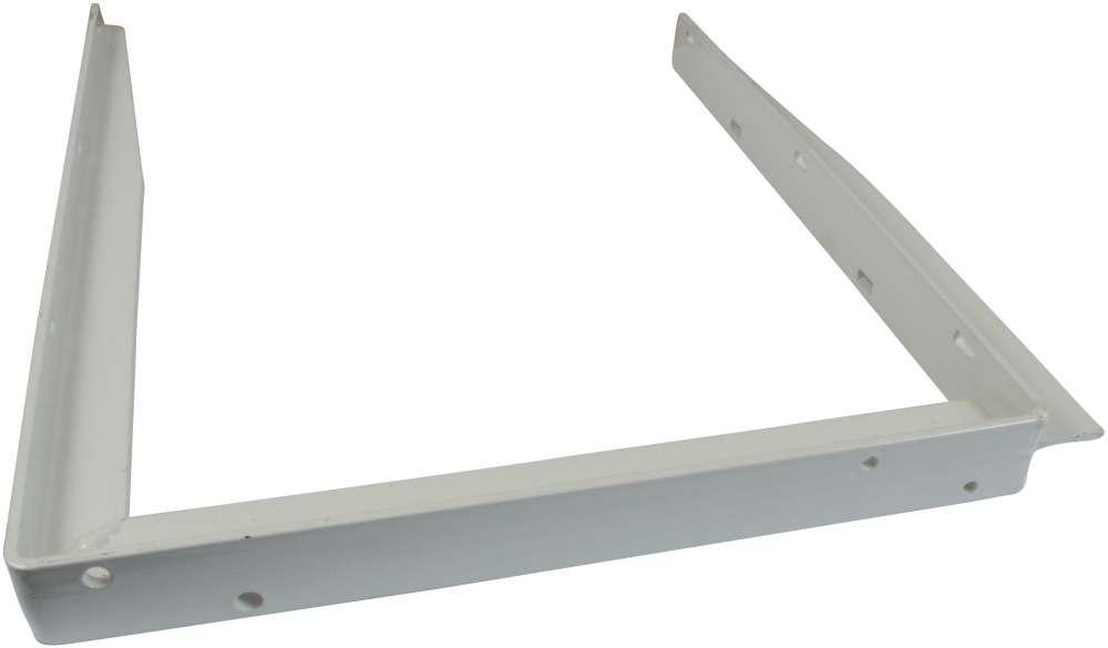 Bordbæring 400x550 mm og lakeret hvid