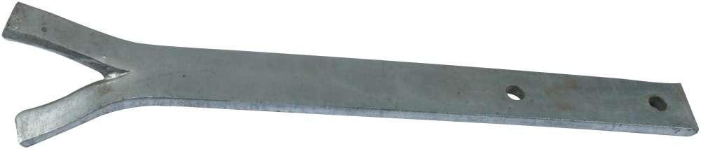 Løsholtjern 350x40x8 mm og varmforzinket