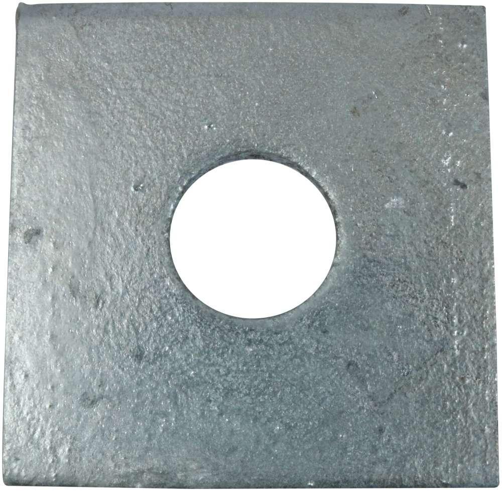 Spændeskive 50x4x14 mm 2 stk. og varmforzinket