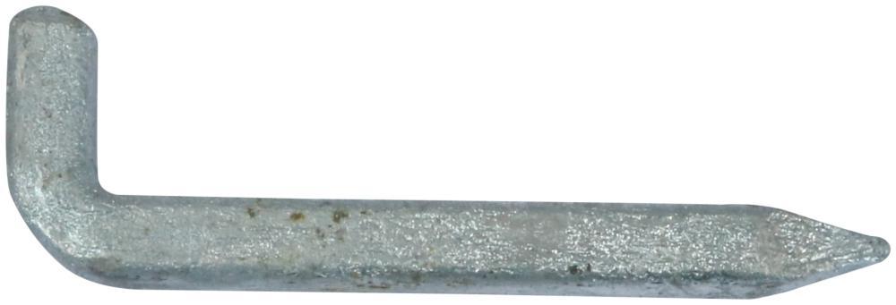 Murhage 75 mm 2 stk og varmforzinket