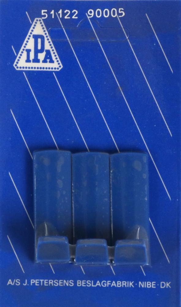 Håndklædekrog blå